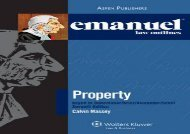 [+]The best book of the month Emanuel Law Outlines for Property Keyed to Dukeminer  [NEWS]