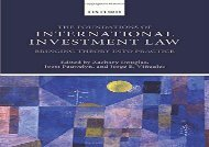[+]The best book of the month Foundations of International Investment Law: Bringing Theory Into Practice  [DOWNLOAD]