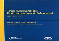[+]The best book of the month The Securities Enforcement Manual: Tactics and Strategies  [NEWS]