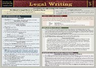 [+]The best book of the month Legal Writing: Quickstudy Laminated Reference Guide [PDF]