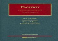 [+]The best book of the month Property Cases and Materials (University Casebook Series)  [DOWNLOAD]