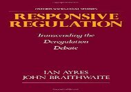 [+]The best book of the month Responsive Regulation: Transcending the Deregulation Debate (Oxford Socio-Legal Studies)  [FULL]
