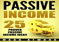 [+][PDF] TOP TREND Passive Income: 25 Proven Business Models To Make Money Online From Home (Passive income ideas)  [READ]