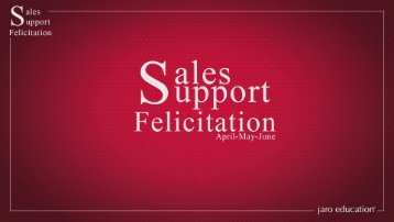 Sales and Support Felicitation
