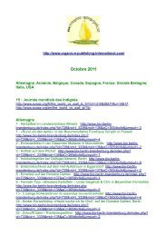 Octobre 2011 - Organic-E-Publishing-International