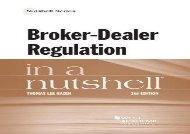 [+]The best book of the month Broker-Dealer Regulation in a Nutshell (Nutshell Series) [PDF]