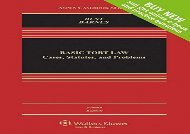 [+][PDF] TOP TREND Basic Tort Law: Cases Statutes and Problems (Aspen Casebooks)  [FULL]