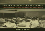[+][PDF] TOP TREND Chicano Students and the Courts: The Mexican American Legal Struggle for Educational Equality (Critical America)  [DOWNLOAD]