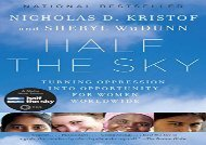 [+][PDF] TOP TREND Half the Sky: Turning Oppression Into Opportunity for Women Worldwide  [FULL]