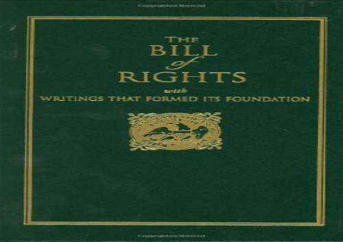 PDF] TOP TREND Bill of Rights: With Writings That Formed Its