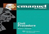 [+]The best book of the month Emanuel Law Outlines for Civil Procedure [PDF]