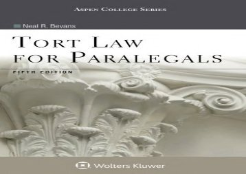 Download ebook basic labor and employment law for paralegals second the best book of the month tort law for paralegals aspen college fandeluxe Image collections
