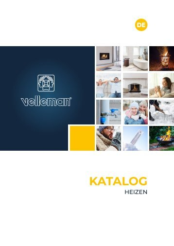 Velleman Heating Catalogue - DE