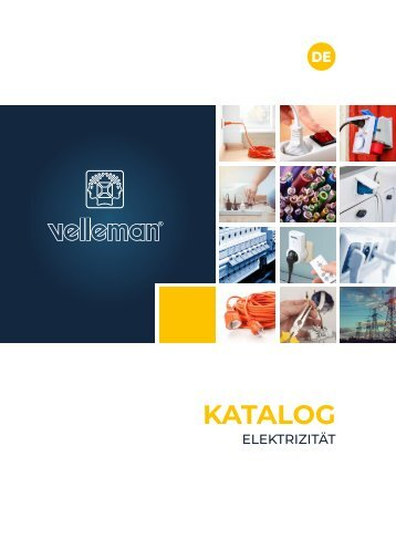 Velleman Electricity Catalogue - DE
