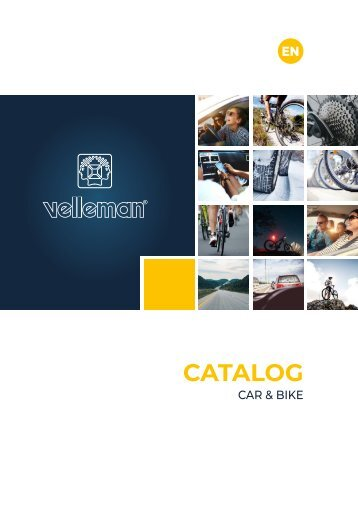Velleman Car & Bike Catalogue - EN