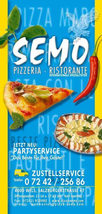 Semo Folder - bei Pizza-Semo.at