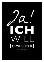 Die WERKSTATT - Ja, ich will!