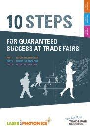 LASER World of PHOTONICS 2019 // 10 steps for guaranteed success at trade fairs