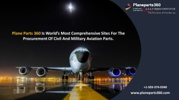 Aviation, NSN, Electronic Parts & Accessories Suppliers – Plane Parts 360