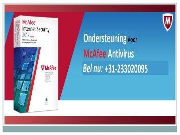 De McAfee Klantenondersteuning Nederland - Wat zit er allemaal in de antivirus