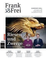 Leseprobe Magazin Frank&Frei 06/2018