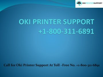 oki-Printer-Support
