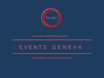 Events In Geneva & Concert Geneve & Agenda Geneve