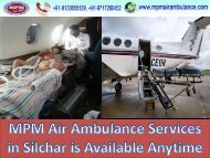 MPM Air Ambulance Services in Tata Nagar at Affordable Cost