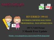 Riverbed 199-01 Dumps