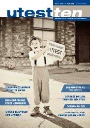 Utestten Dergi - 1. Sayı
