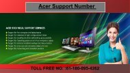 Acer Support Number For Australia