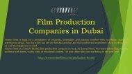 Film Production Companies 971 55 4087857 in DubaiProduction House Dubai