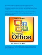 Get help dial  1-800-658-7602 Microsoft Office Technical Support Phone Number - Page 2