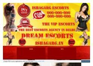 Ishagarg Sexy Escorts in Delhi || Delhi Escorts Services
