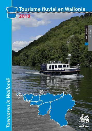 Tourisme fluvial en Wallonie 2018