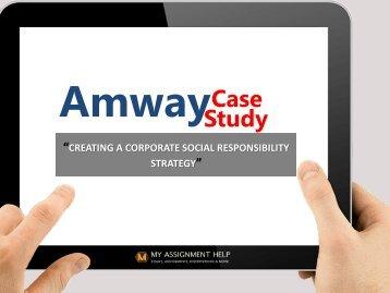 Amway case study
