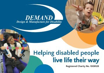 DEMAND Design & Manufacture for Disability Annual Review 2018