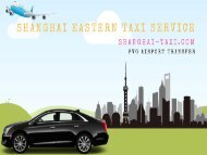 PVG Airport Transfer