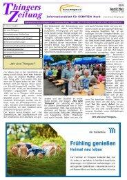 Thingerszeitung April/Mai 2018