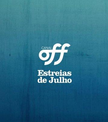 Estreias de Julho | Canal OFF