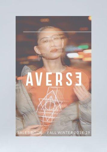 AVERSE | FW18/19 Lookbook