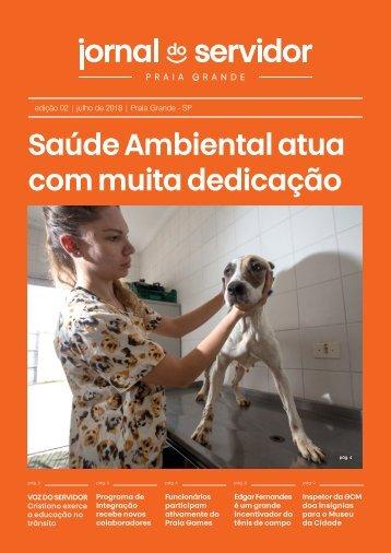 Jornal do Servidor - Praia Grande | Ed. 2 | Julho 2018