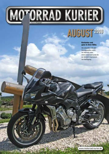 24. August 2008 - Motorrad-Kurier