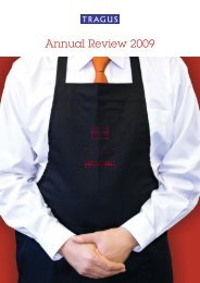 Annual Review 2009 - Tragus Group