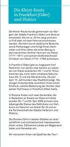 Kleist-Route - Europa-Universität Viadrina Frankfurt - Seite 7