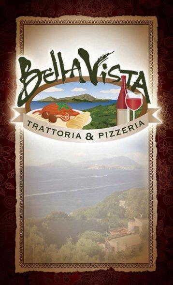 menu - Bella Vista Trattoria & Pizzeria