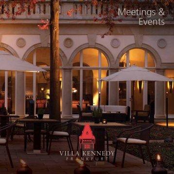Meetings & Events - Villa Kennedy