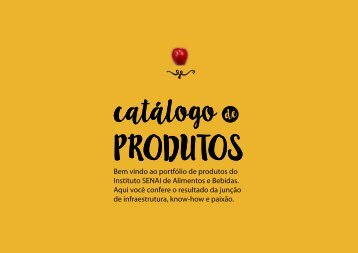 Portfólio de Produtos IST Alimentos e Bebidas