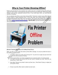 Why Is Your Printer Showing Offline